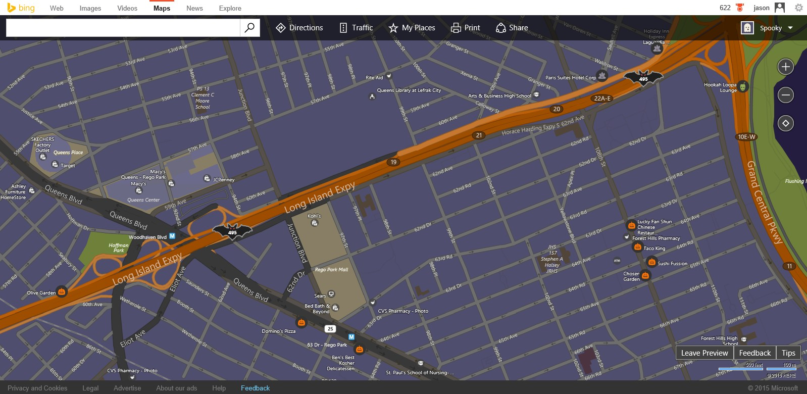 Happy Halloween from Bing Maps – Map Bing Maps