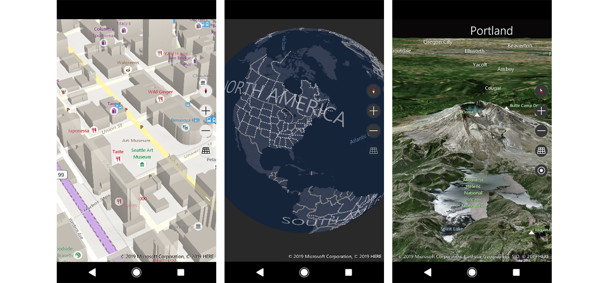 QnA VBage Bing Maps SDK Public Preview for Android and iOS Launches Today
