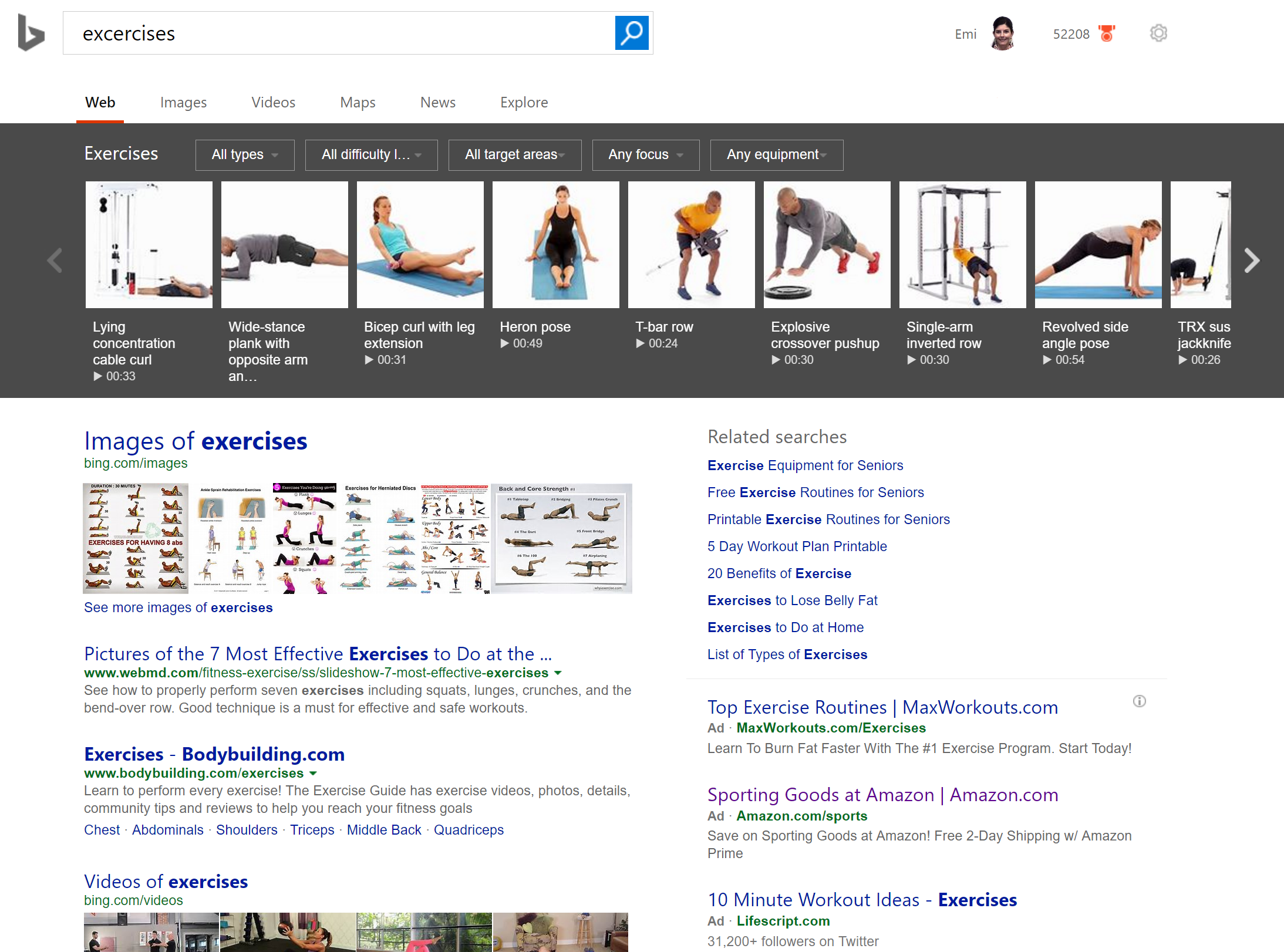 bing helps you reach new year s health goals bing search blog