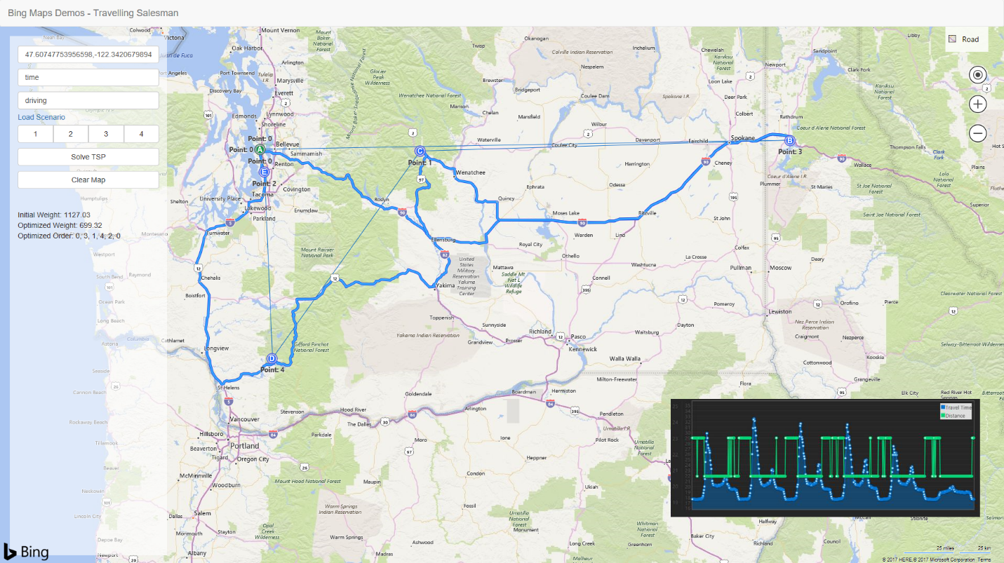 Bing Maps Distance Matrix API Launches Today | Maps Blog Distance On Map on