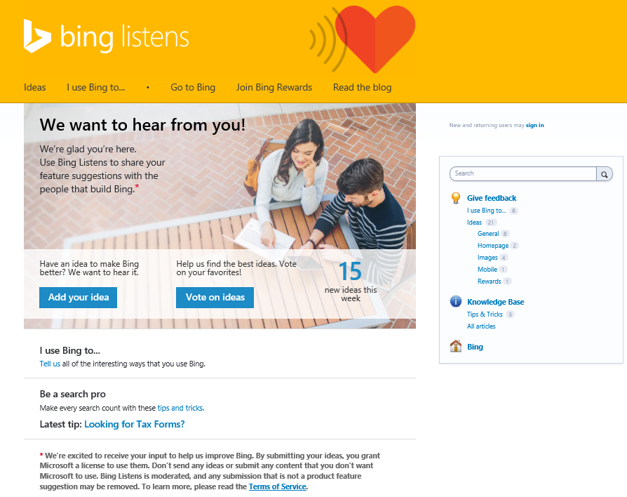 bing round up bing brings better help to office offers new ways to