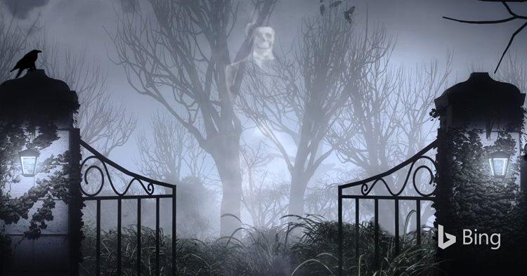 visit bing s haunted graveyard bing search blog
