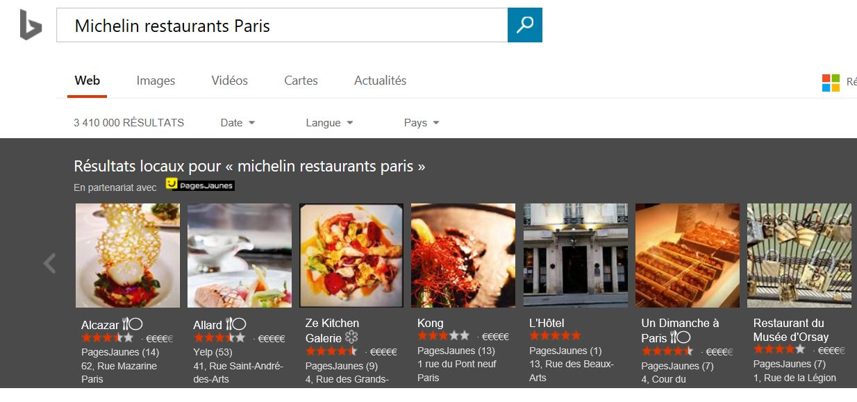 Restaurant Michelin Paris   Ef Bf Bdtoiles