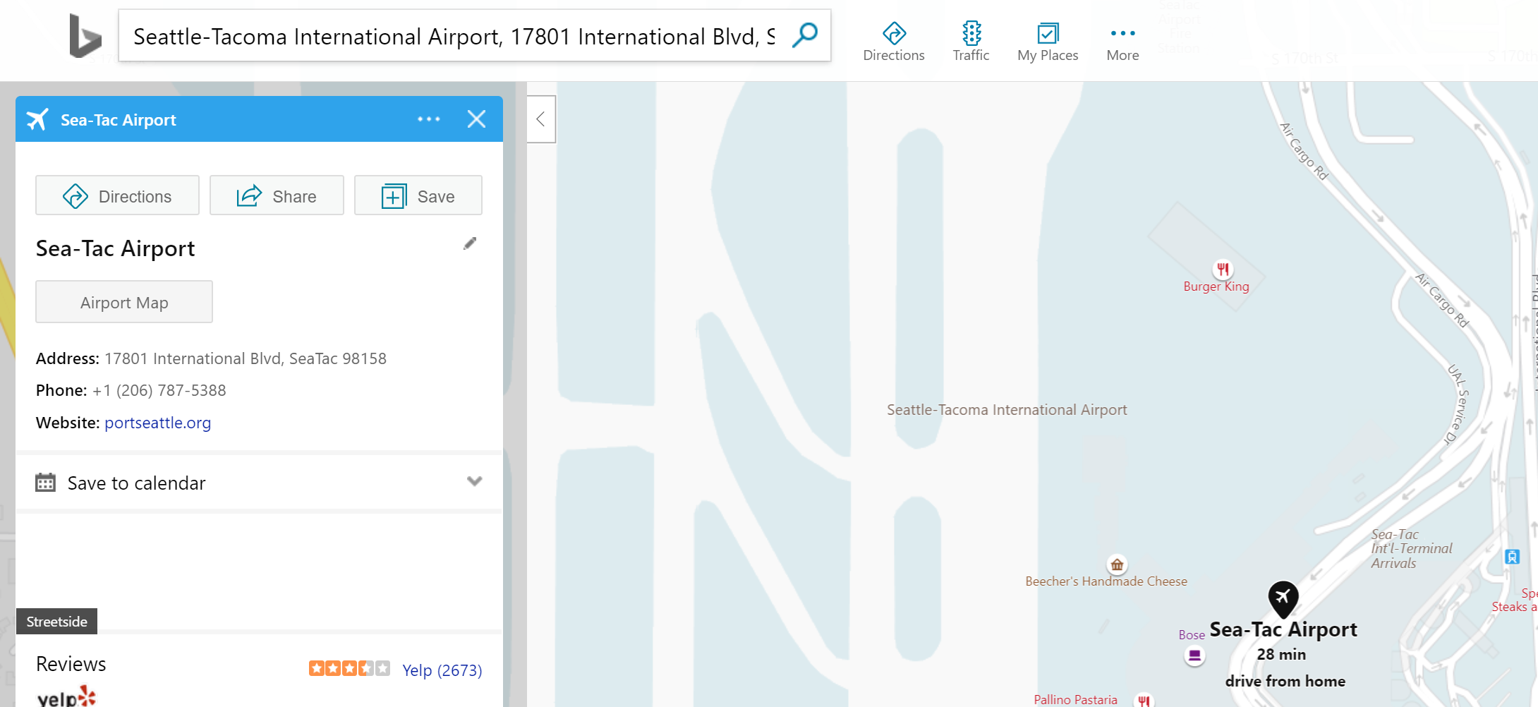 Recent Searches Now Available in Bing Maps Autosuggest | Maps Blog