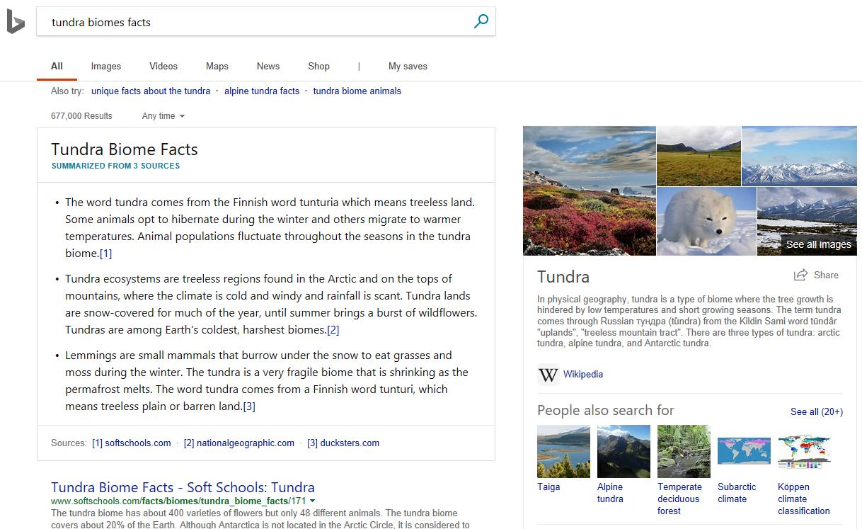 Microsoft anuncia novos recursos de pesquisas inteligentes para o Bing 1