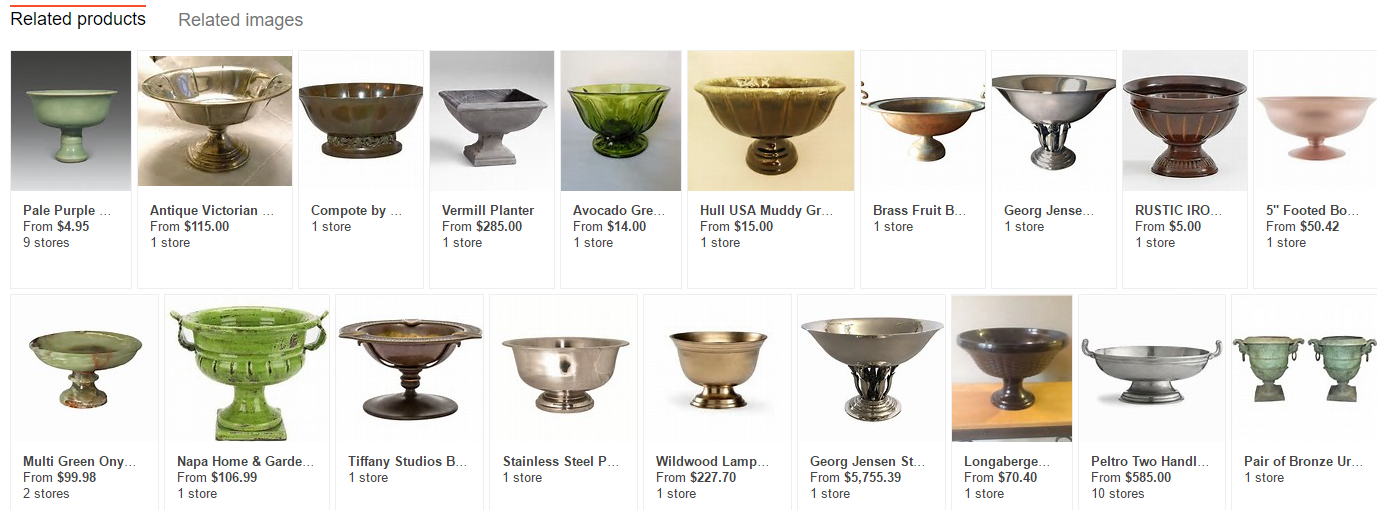 Image Search - Bowl Related Product
