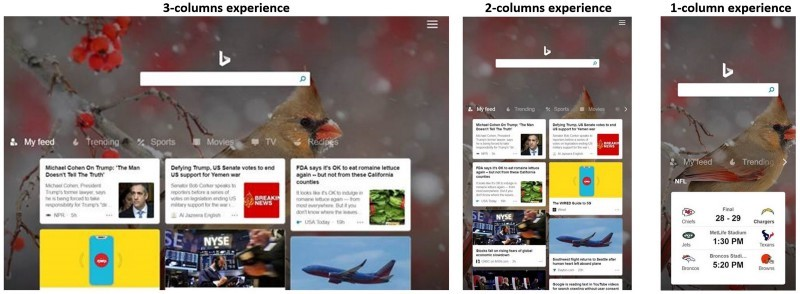 Bing redesigns homepage on Amazon Fire tablets using React + Redux