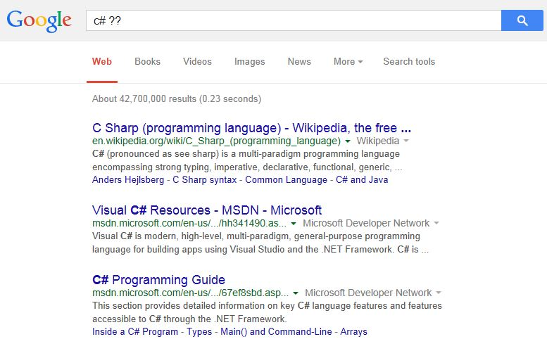 Bing Streamlines Technical Searches | Bing Search Blog
