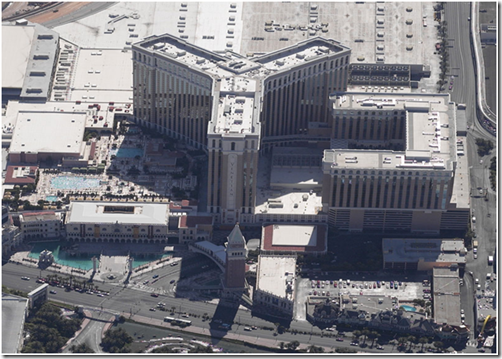 Click to see bird's-eye view of Las Vegas Venetian Resort Hotel Casino on Live Search Maps