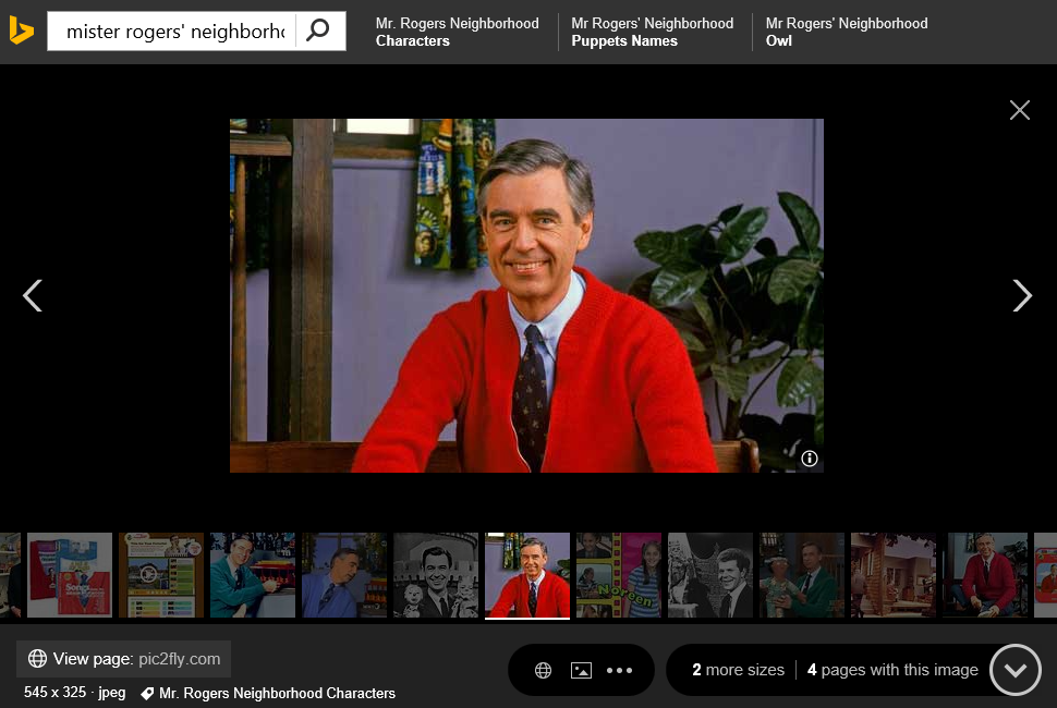 02 Mr Rogers First Pic