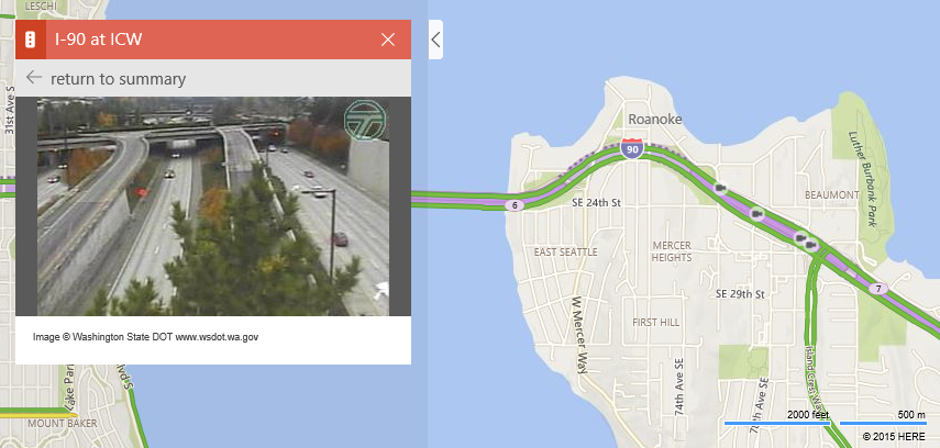 Traffic Cameras in Bing Maps | Maps Blog