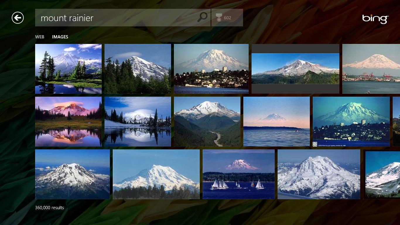 Page Snapshots In Bing Windows 8 App To Bring New Crawl Traffic To Sites