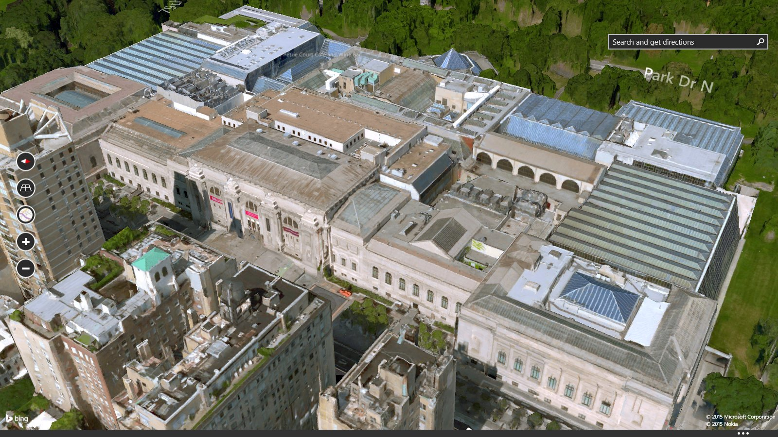 Celebrate st patrick s day with bing maps maps blog for Metropolitan museum of art in new york