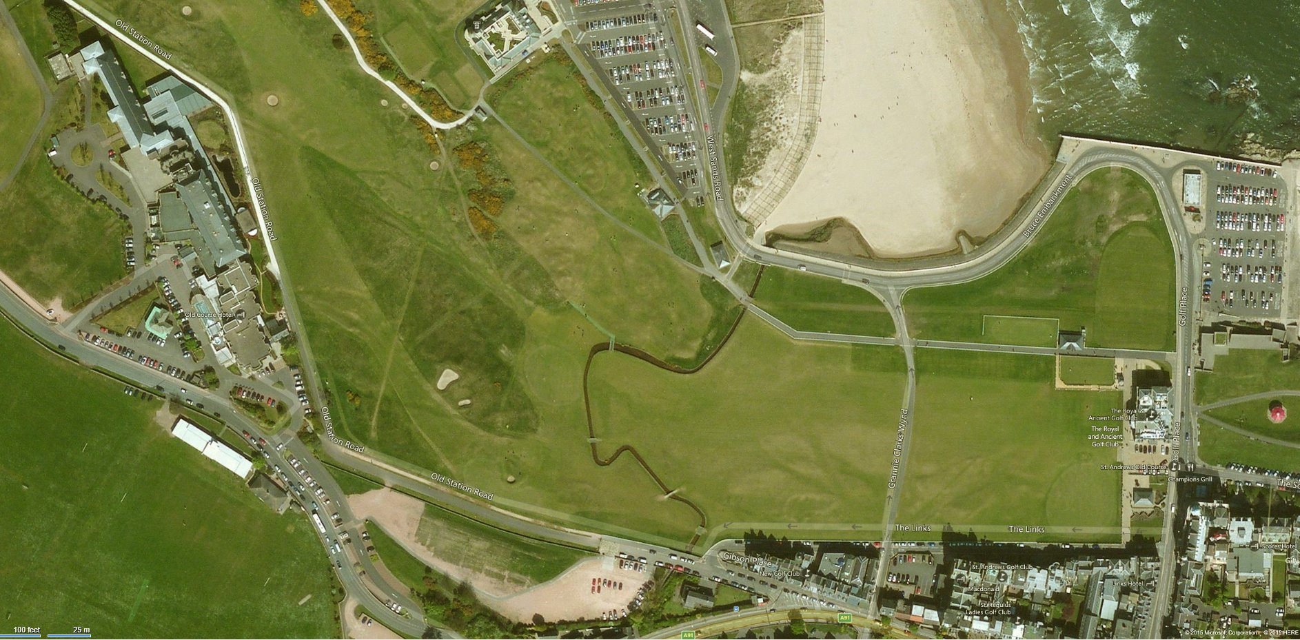 Head For The Golf Course With Bing Maps Maps Blog - Map of usa golf courses