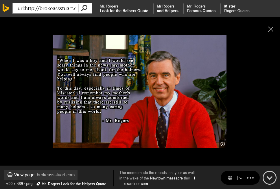 03 Mr Rogers Second Pic