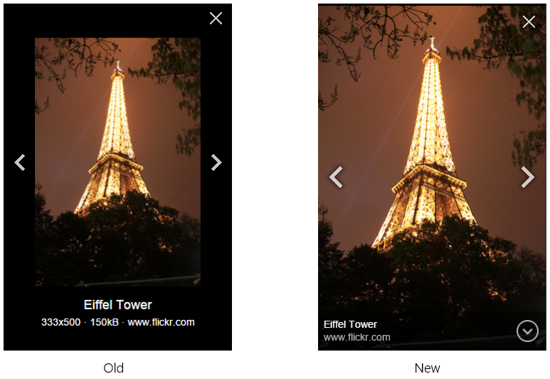 Eiffel Tower - Old and New