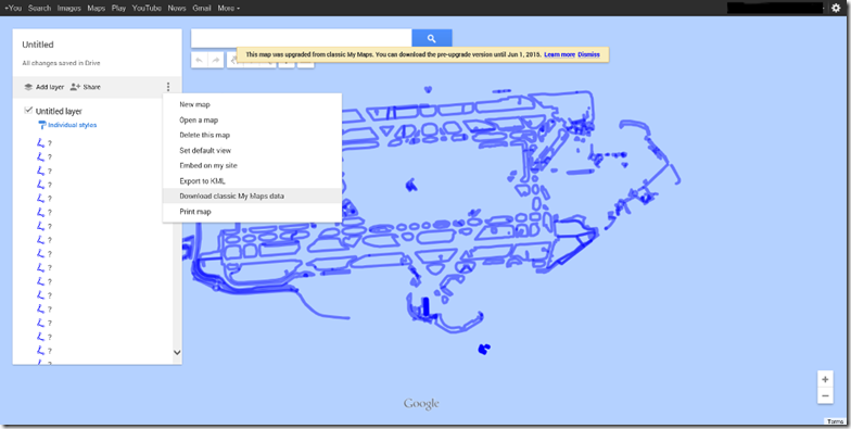 "Migrating ""My Map"" from Google to Bing 