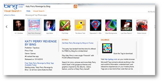 Bing And Microsoft Tag Make Downloading The Perfect App A