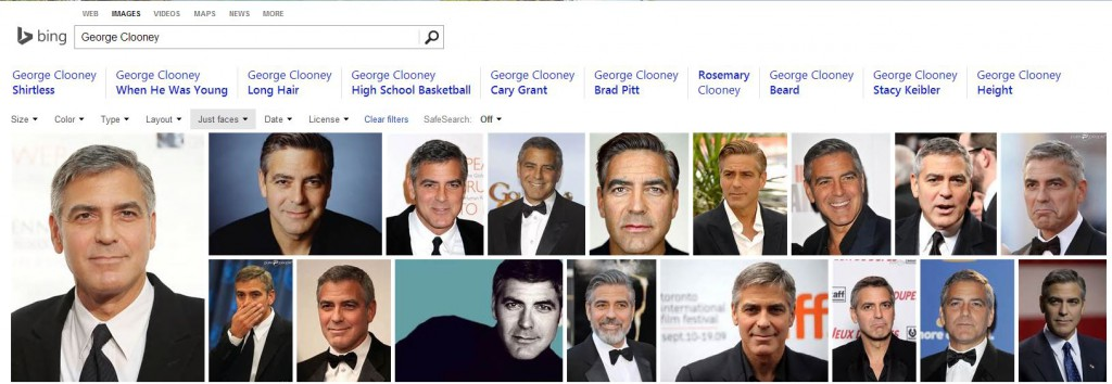 face clooney