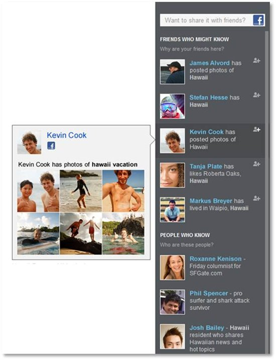 search and browse your facebook friends photos on bing bing