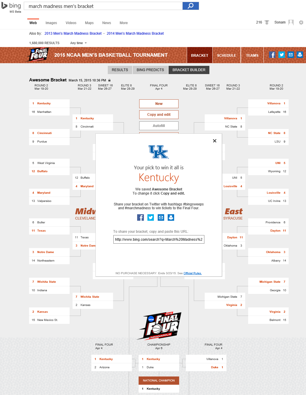 build a smarter bracket with bing bing search blog