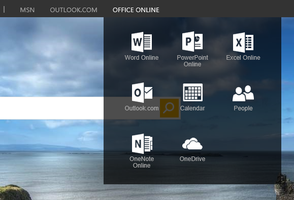 Office Menu Screenshot (1)