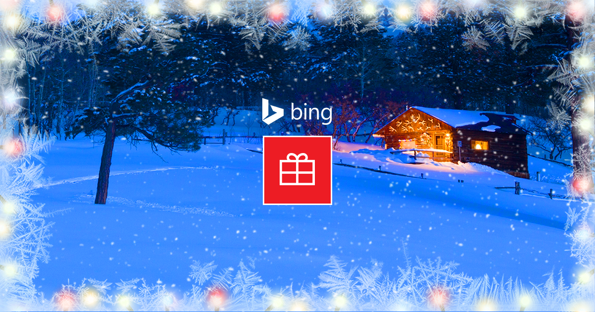 Your Bing Guide for the Holidays