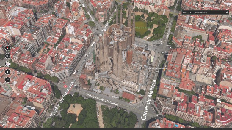 Microsoft Bing Maps 3D screenshot
