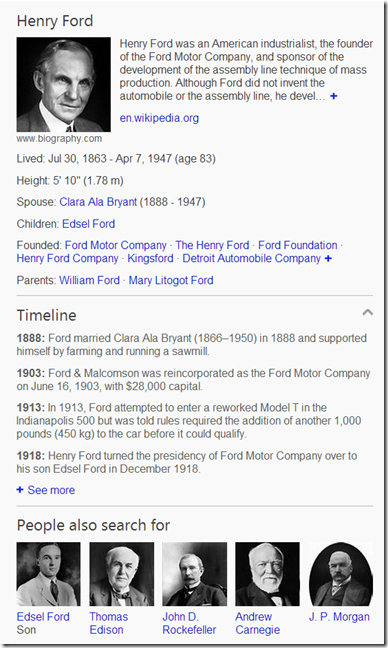 Timeline understanding important events in people s lives for Ford motor company retiree death benefits